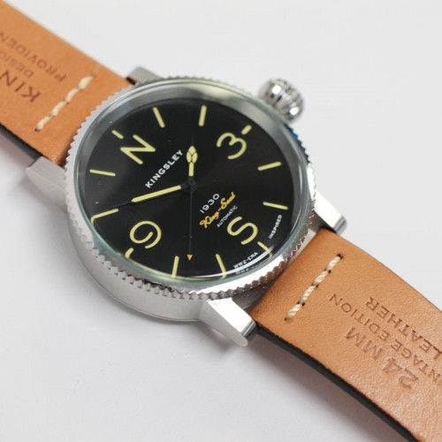 Kingsley 1945 Type 3 1930's King Seal Watch Black