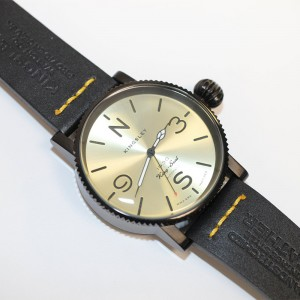 Kingsley 1945 Type 3 1930's King Seal Watch Champagne