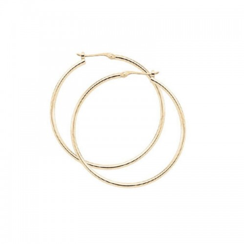 PDcollection 14K Gold Hoop Earrings