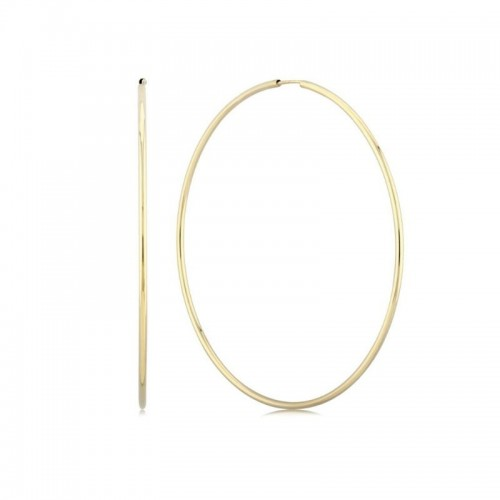 PD Collection Yg 1.5X60Mm EndlePD Collection Ss Hoop Earrings