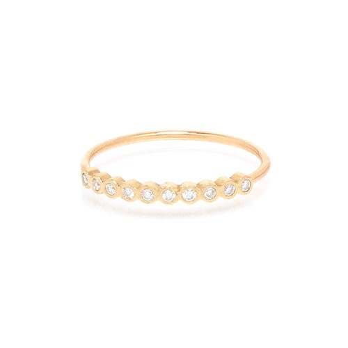 Zoe Chicco Diamond Bezel Ring