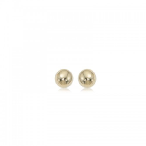 Pd Collection Yg  4Mm Ball Earrings