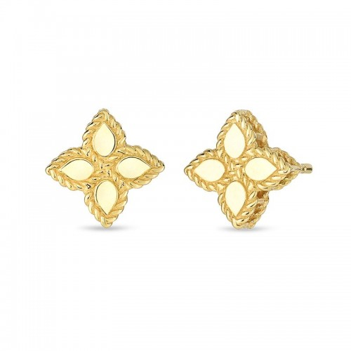 Roberto Coin Yellow GoldSmall Stud Earrings