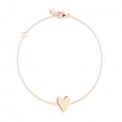 Dana Rebecca Heart Bracelet