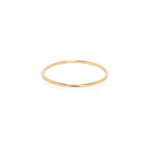 Zoe Chicco Gold Thin Band Ring