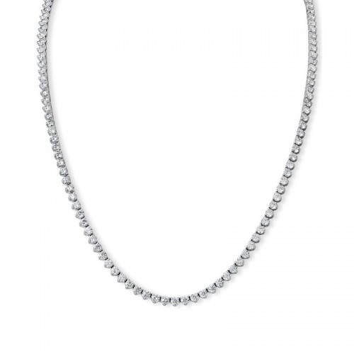 PD Collection Diamond Line Necklace