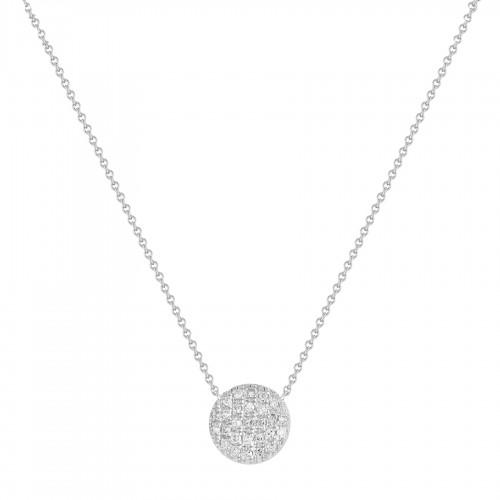Dana Rebecca Lauren Joy Medium Disc Necklace