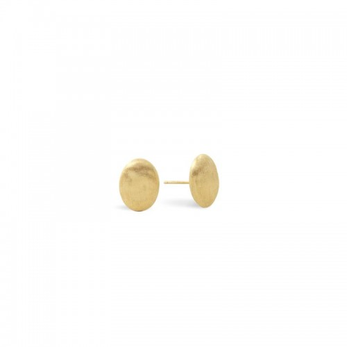 Marco Bicego 18K Yellow Gold Siviglia Collection Oval Stud Earrings