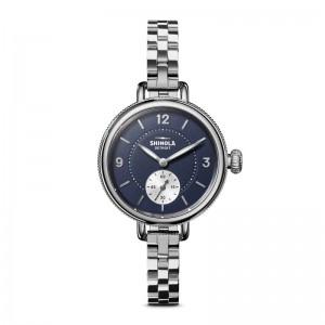 Birdy Sub Second 34mm, Silver Bracelet Watch