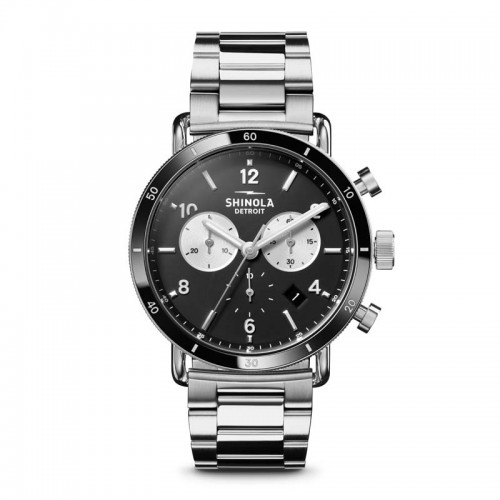 Canfield Sport 40mm, Silver Bracelet Watch