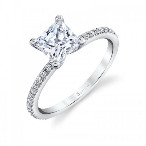 Sylvie Adorlee Princess Engagement Ring