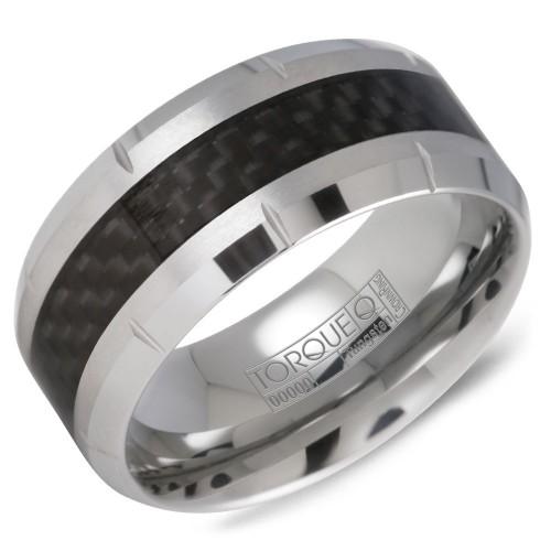 A tungsten Torque band with a carbon fibre inlay.