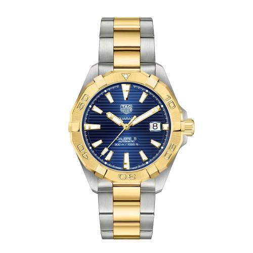 Aquaracer 300M Steel & Gold Calibre 5 watch