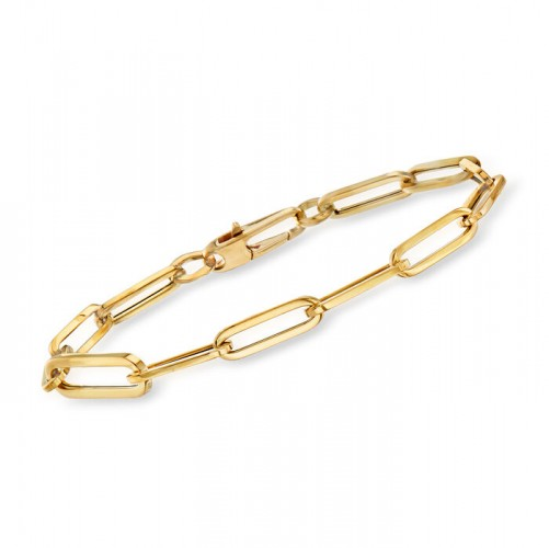 Roberto Coin Paperclip Chain Bracelet