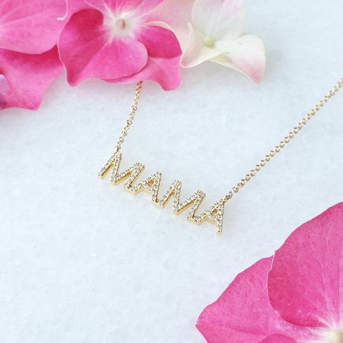 Diamond Mama Pendant