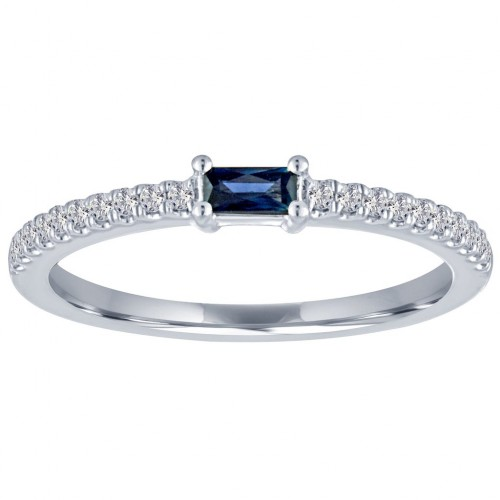 The Julia Sapphire Ring by My Story