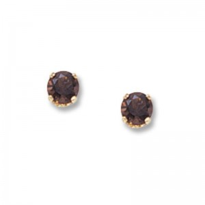 Pd Collection Yg 4Mm Pearl Earrings