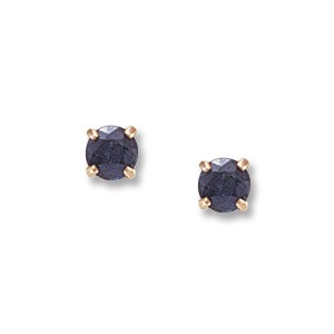 4MM SAPPHIRE EARRINGS
