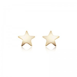 Pd Collection Yg Medium Star Earrings
