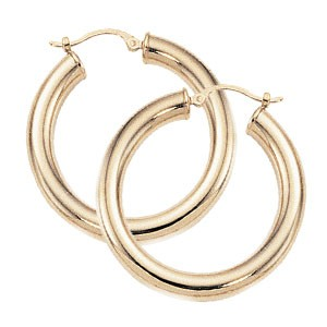 PD Collection Yg Tube 4X30Mm Earrings
