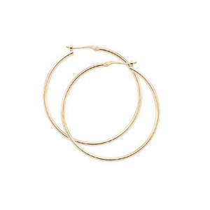 PDCollection 14K Gold Hoop Earrings