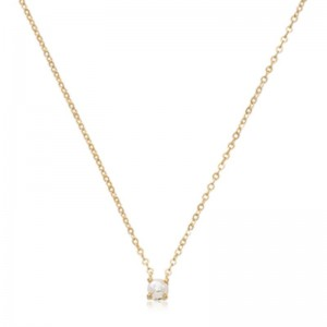 Pd Collection Yg 4Mm Pearl Necklace