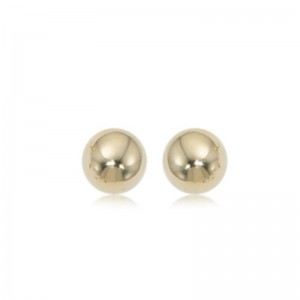 Pd Collection Yg 6Mm Ball Earrings