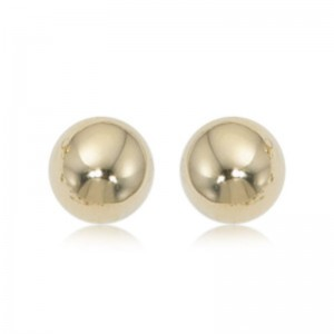 Pd Collection Yg 10Mm Ball Earrings