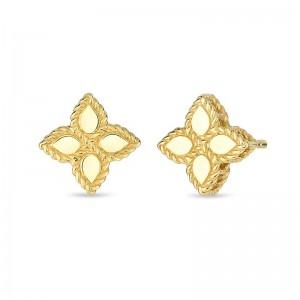 Roberto Coin Yellow GoldSmall Stud Earrings