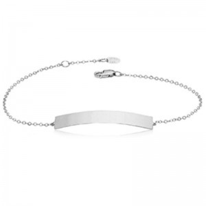 Pd Collection Ss Engravable Bar Bracelet 7-7.5