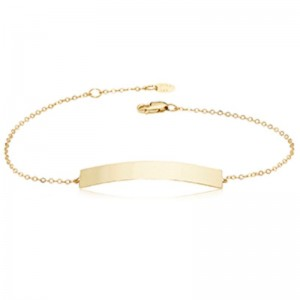 Pd Collection Yg Horizontal Bar Bracelet 7-7.5