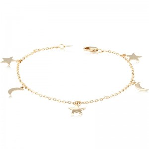 Pd Collection Yg Celestial Bracelet 7-7.5