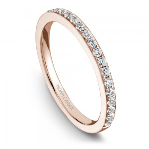 NC Sample 14K Rg .20Ctw Matching Diamond Band