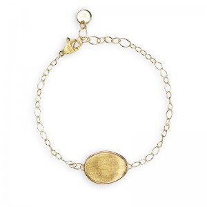 Marco Bicego 18K Yellow Gold Lunaria Bracelet With One Element 6.25
