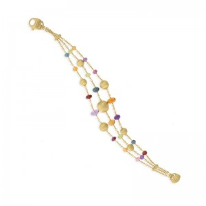 Marco Bicego 18K Yellow Gold Africa Collection  Gemstone Bracelet