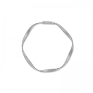 Marco Bicego 18K White Gold Marrakech Supreme Collection  Bracelet