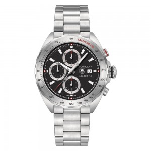 TAG Heuer Formula 1 Calibre 16 Automatic Steel and Ceramic Chronograph