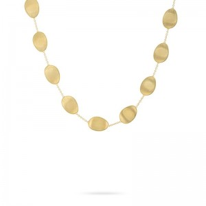 Marco Bicego 18K Yellow Gold Lunaria Short Necklace 17