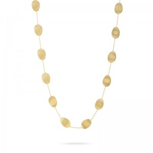 Marco Bicego 18K Yellow Gold Lunaria Necklace 36
