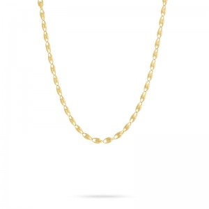 Marco Bicego 18K Yellow Gold Lucia Small Link Chain Necklace, 17.75