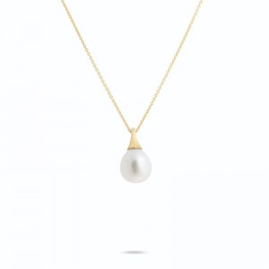Marco Bicego 18K Yellow Gold Africa Boules Pearl Pendant