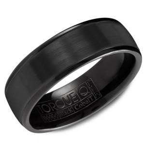 A black cobalt Torque band polished edges.
