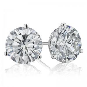 6CTW Diamond Martini Stud Earrings