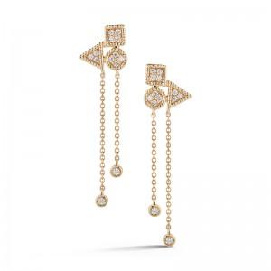 Dana Rebecca Diamond Drop Earrings