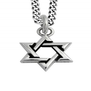 KB Ss Large Star Of David Pendant