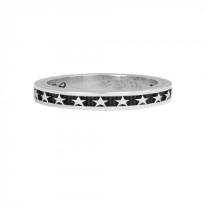 KB Ss Stackable Star Ring