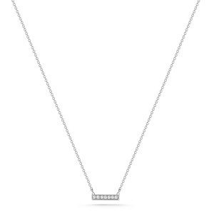 Dana Rebecca Sylvie Rose Bar Necklace