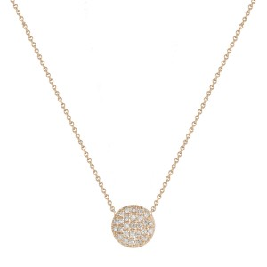 Dana Rebecca Lauren Joy Medium Disc Necklace