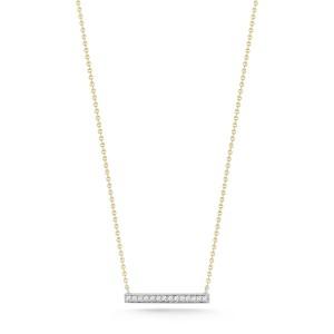 Dana Rebecca Sylvie Rose Medium Bar Necklace