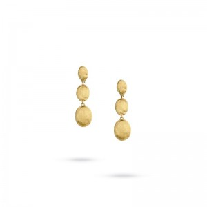 Marco Bicego 18K Yellow Gold Siviglia Triple Drop Earrings
